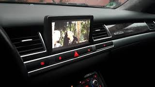 Audi a8 d3 mmi 2g android touch screen