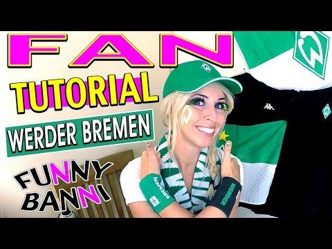 fussball-fan-tutorial- -fc-werder-bremen-best-bundes-make-up-liga- -funny-banni