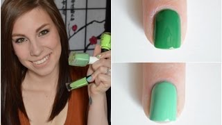 Green Nail Polish Favorites