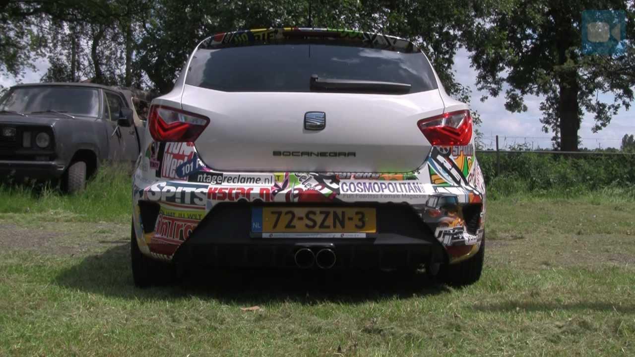 Seat Ibiza Cupra Milltek Exhaust 270 HP LOUD Revving Interior