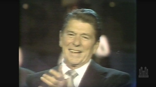 President Reagan Moved by the Choir Singing at His Inauguration Parade - Mormon Tabernacle Choir