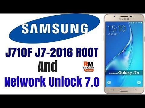 Samsung J710f Root & Network Unlock 7 0 [[J7-2016]] New
