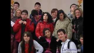 Recepción de alumnos y profesores del Proyecto Arce