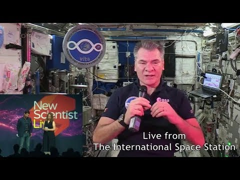 Paolo Nespoli at New Scientist Live
