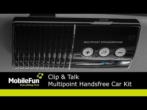Clip & Talk Multipoint Hands-free Car Kit