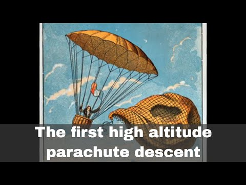 22nd October 1797: The first high altitude parachute descent