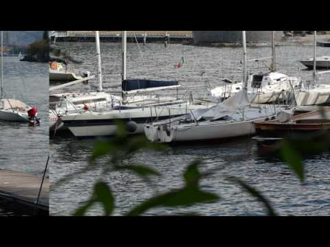 """Snapshots of """"Lecco"""" & its Lake from Malgrate - 4K UHD Video"""
