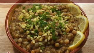 Matar (Matra) Chaat Recipe by Manjula, Indian Gourmet Cuisine