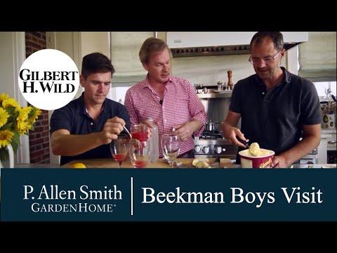 "Garden Home ""A Visit From The Beekman Boys"""