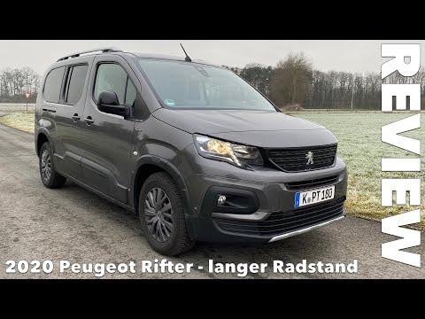 2020 Peugeot Rifter L2 Fahrbericht Test Review Probefahrt Meinung Kritik Kaufberatung