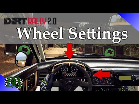 Best Dirt Rally 2.0 Steering Wheel Settings and Force Feedback Settings For YOU!