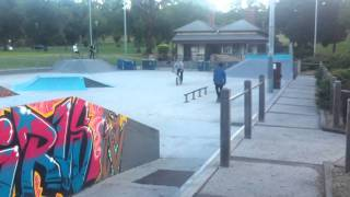 Riverside Skate Park Melbourne 2012 (short) Tawa Hayes