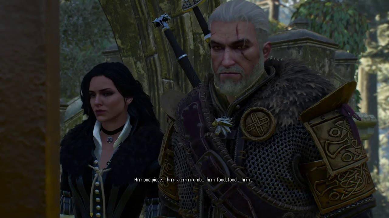 The Witcher 3 Geralt Yennefer Go To Freya 39 S Garden For