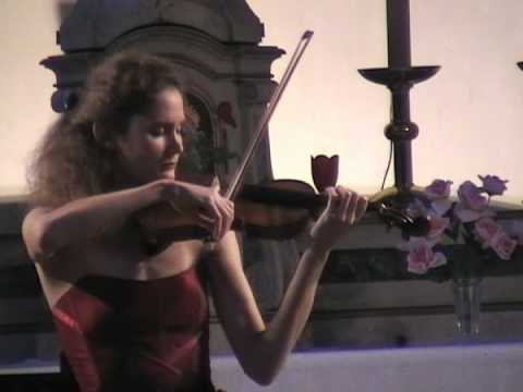 Marie Cantagrill plays Franck violin Sonata-sample 3rd movement (live)