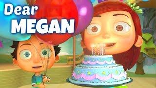 Happy Birthday Song to Megan