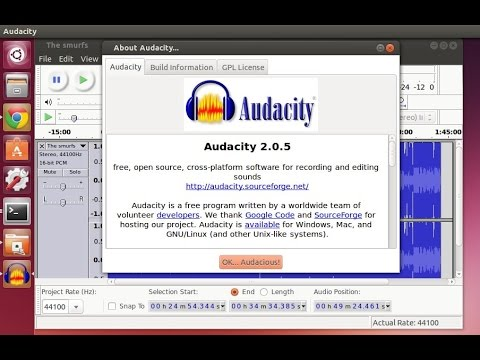 audacity per ubuntu
