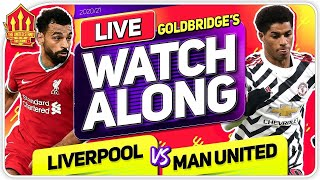 LIVERPOOL vs MANCHESTER UNITED With Mark GOLDBRIDGE LIVE