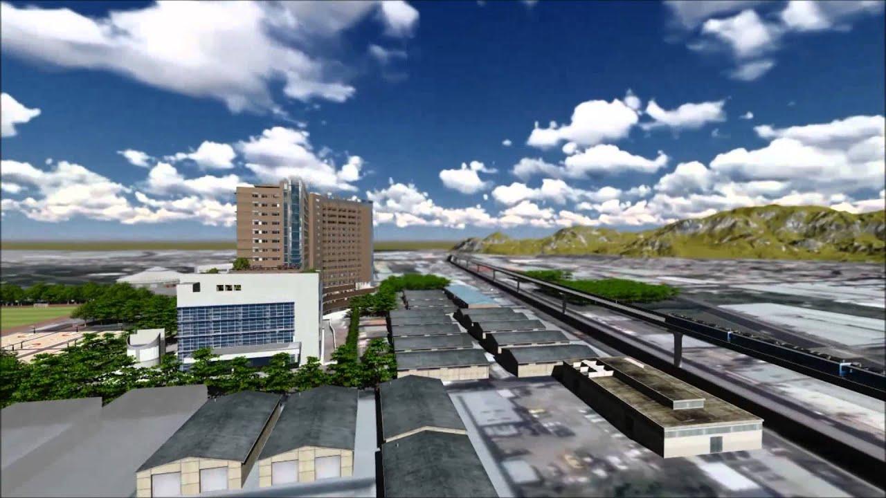 2015輔大附設醫院外觀模擬動畫 - YouTube