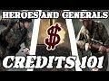 Heroes And Generals How To Make TONS Of Credits mp3
