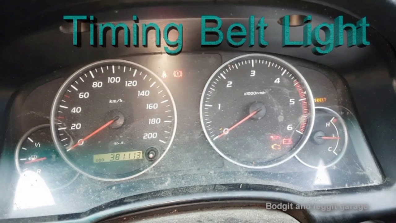Powergrip Timing Belt In Toyota Hiace 2002 Youtube