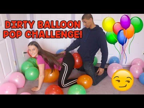 DIRTY BALLOON POP CHALLENGE! thumbnail