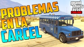 PROBLEMITAS EN LA CÁRCEL!! D: - Gameplay GTA 5 Online Funny Moments
