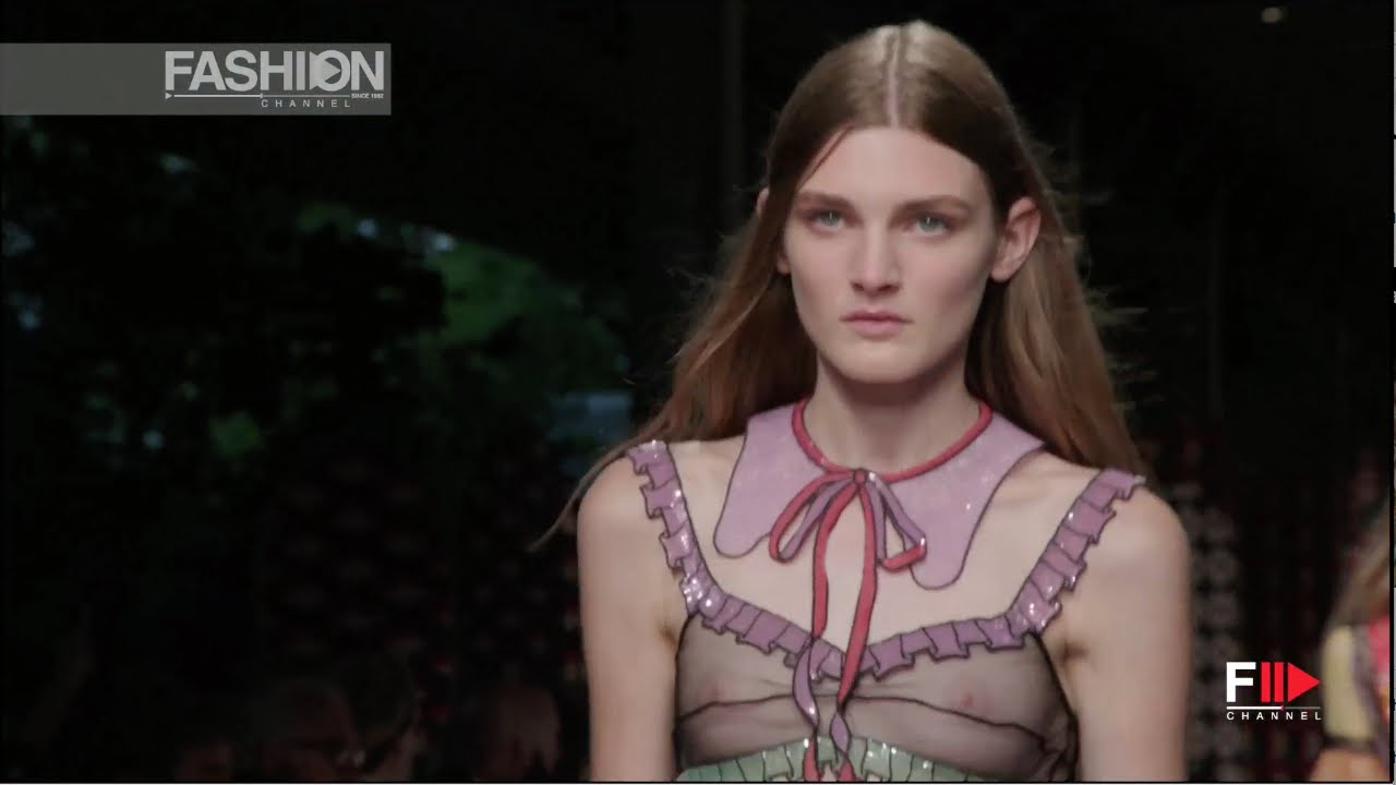 GUCCI Spring Summer 2016 by Alessandro Michele Milan - Fashion Channel