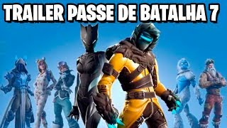 Fortnite-TRAILER PASS OF BATTLE 7 LEAKED