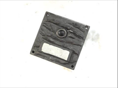 Berühmt Klingeltaster defekt Reparatur Video 589 - YouTube TI51