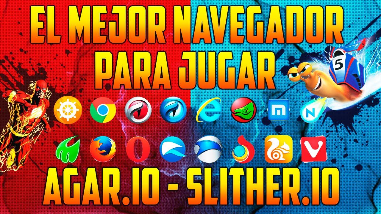 EL MEJOR NAVEGADOR DEL MUNDO PARA JUGAR AGAR.IO - SLITHER.IO - DIEP.IO Y  MUCHOS JUEGOS ONLINE - YouTube