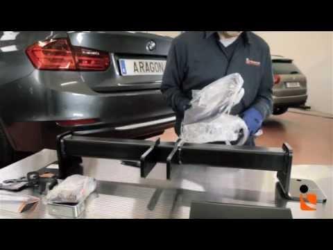 Présentation de montage attelage voiture - YouTube