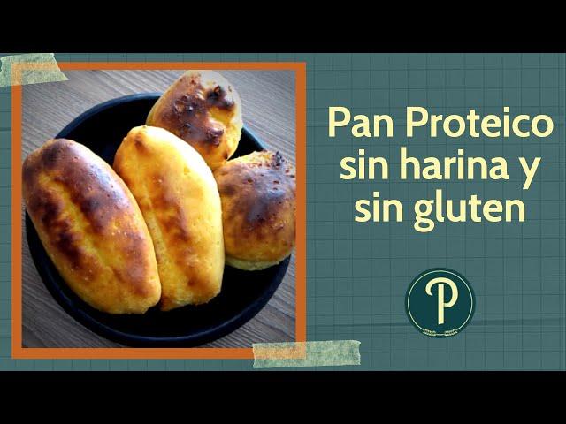 Pan Proteico (3 ingredientes)  SIN gluten y SIN harina. // PanPillón - Taller de Panadería