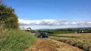 Glass contracts lifting 1st cut grass