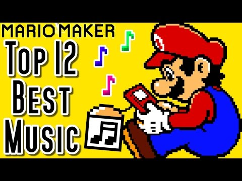 Super Mario Maker Top 12 MUSIC Courses of the YEAR Wii U