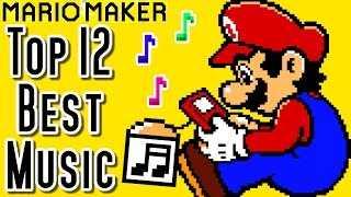Super Mario Maker Top 12 MUSIC Courses of the YEAR (Wii U)