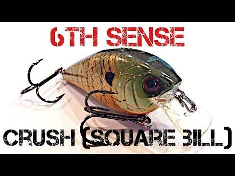 Lure Review- 6th Sense Crush (Square Bill)