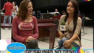 Andrea Noli revela que Jorge Salinas no tiene acercamiento c
