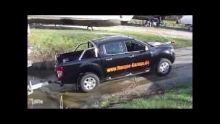 Ford Ranger Limited (2012) im Test mit einem Boot. Mitschnitt einer Kunden Probefahrt
