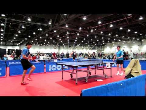 2012 US Table Tennis National - Phillip Woo vs Barry Dattel