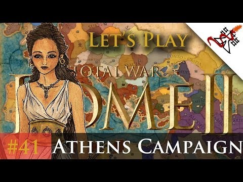 "Let's Play - Total War: Rome 2 - Athens Campaign Ep.41 ""We Fought on the Shore!"""