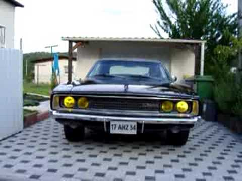 Dodge Charger 1968 Lights Opening Youtube