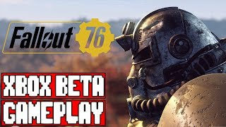 FALLOUT 76 Gameplay Walkthrough Part 1 - No Commentary (Fallout 76 Closed Beta)