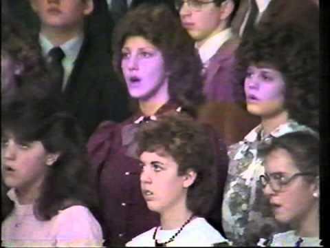 Calvary Baptist Christian Academy Choir - Meadville, Pennsylvania (Chirstmas 1985)