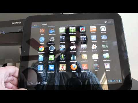 CyanogenMod 9 Nightlies For The HP TouchPad