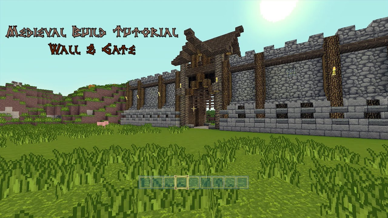 minecraft gate design. Perfect Gate With Minecraft Gate Design Y
