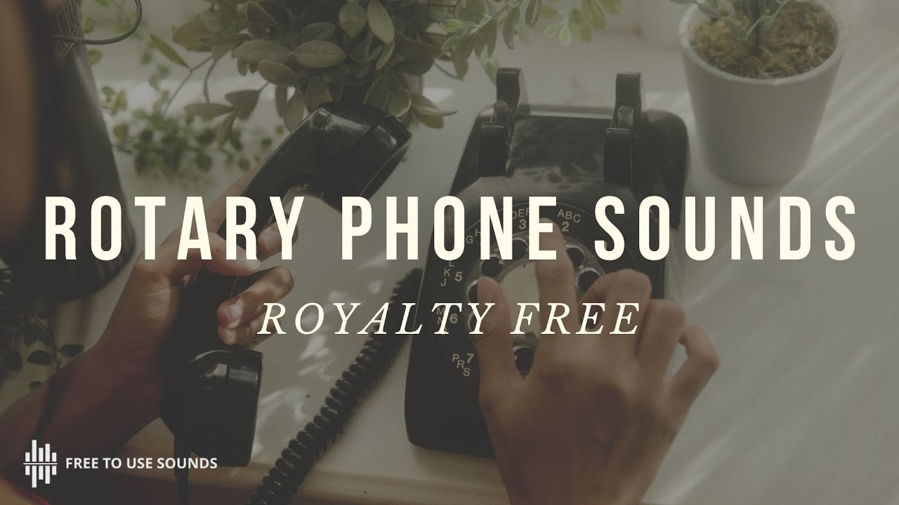 Rotary Phone Sound Effects USA Model! With Video & Free Download