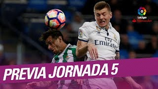Video Previa de la Jornada 05 LaLiga Santander 2017/2018 download MP3, 3GP, MP4, WEBM, AVI, FLV September 2017