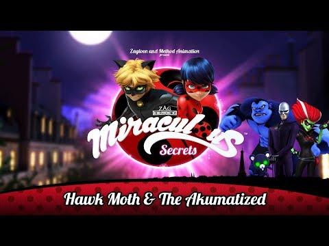 MIRACULOUS SECRETS | 🐞 HAWK MOTH & THE AKUMATIZED 🐞 | Tales Of Ladybug And Cat Noir