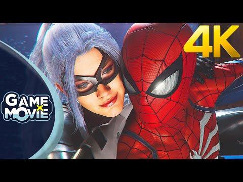 SPIDERMAN BLACK CAT DLC - Film Complet (Game Movie) FR 4K PS5
