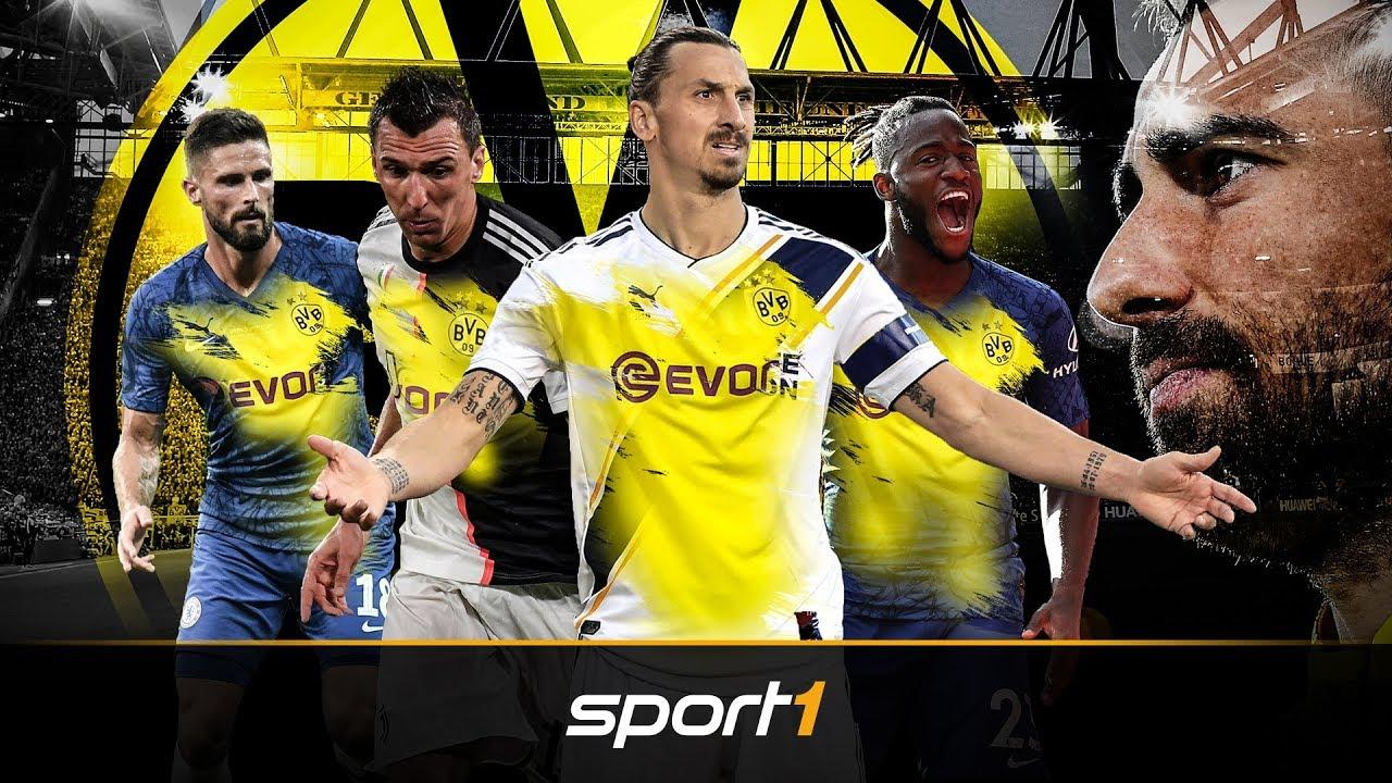 BVB sucht Backup: Wer wird Dortmunds neuer Knipser? | SPORT1 - TRANSFERMARKT-SHOW